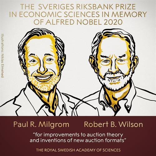Paul R. Milgrom y Robert B. Wilson, galardonados con el Nobel de Economía