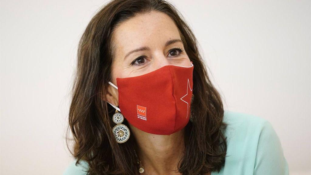 La consejera de Presidencia de la Comunidad de Madrid, Eugenia Carballedo.