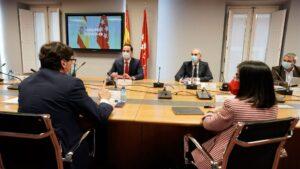 Salvador Illa, Carolina Darias, Ignacio Aguado y Enrique Ruiz Escudero