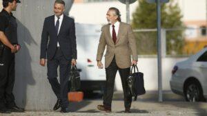 Francisco Correa a la llegada al juicio por la Gürtel.