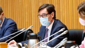 El ministro de Sanidad, Salvador Illa, comparece ante la Comisión de Sanidad y Consumo para actualizar la información sobre el COVID-19