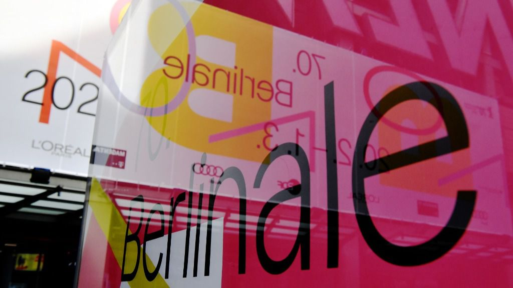Cartel del festival alemán de cine Berlinale