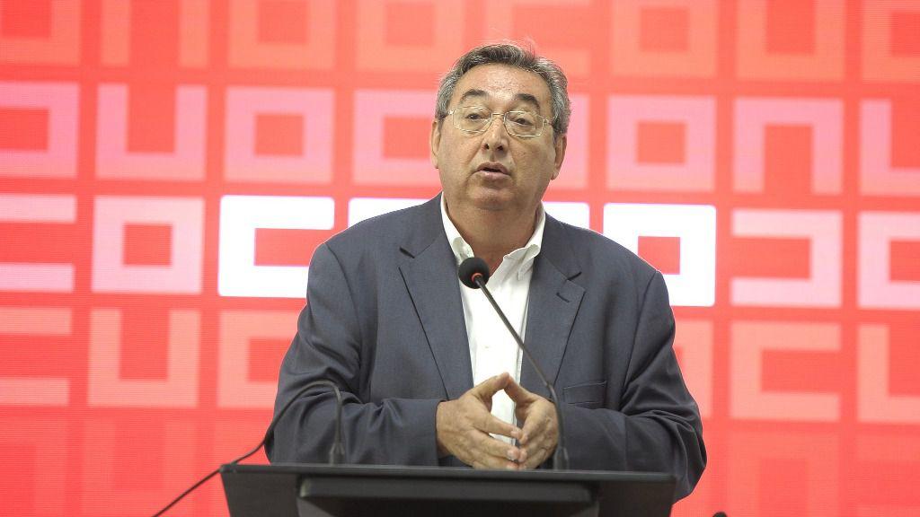 Toni Ferrer, secretario de empleo y relaciones laborales del PSOE