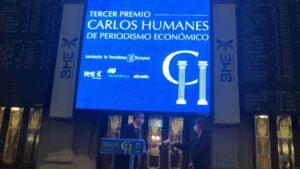 Premio Periodismo Económico Carlos Humanes