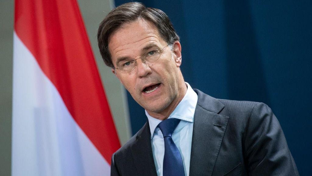 El primer ministro de Países Bajos, Mark Rutte