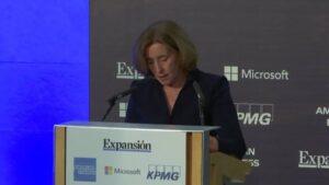 Secretaria de Estado de Economía, Ana de la Cueva, en XI Encuentro Financiero de KPMG-Expansión