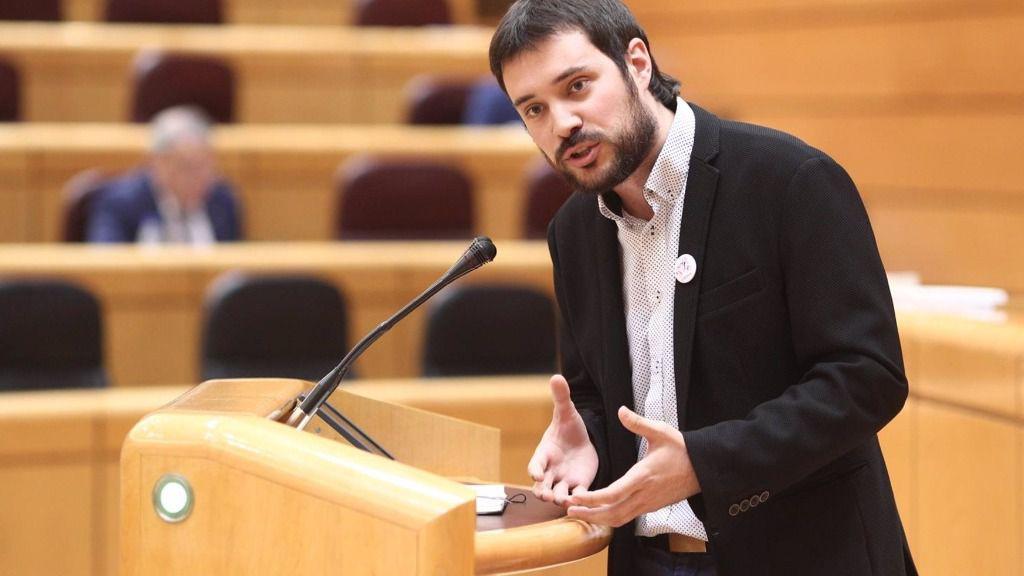 El senador de ERC Bernat Picornell.