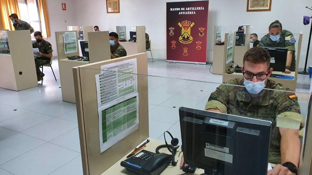El Ejército de Tierra incorpora 64 militares para tareas de rastreo en Comunidad de Madrid