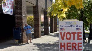 Colegio electoral en Pensilvania