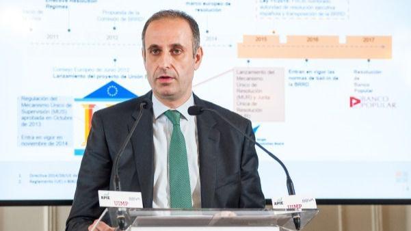 Jaime Ponce, presidente del FROB