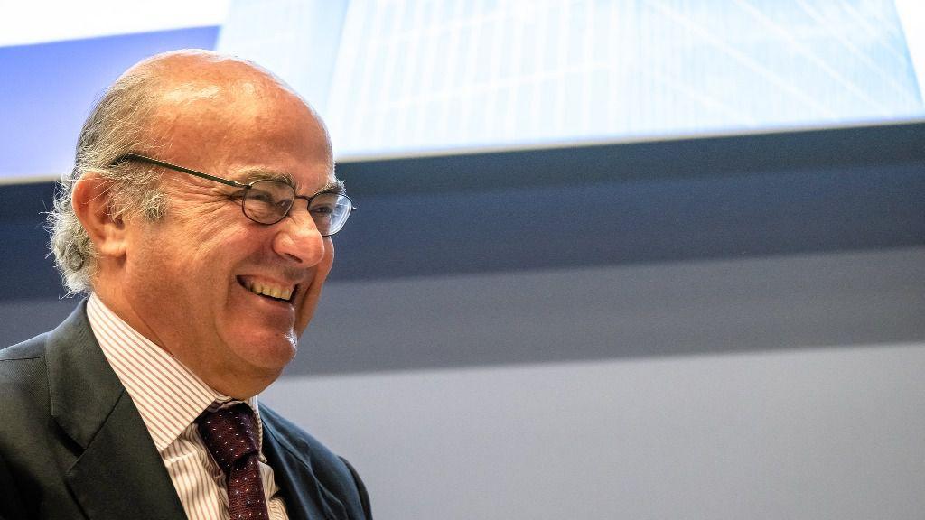 El vicepresidente del BCE, Luis de Guindos