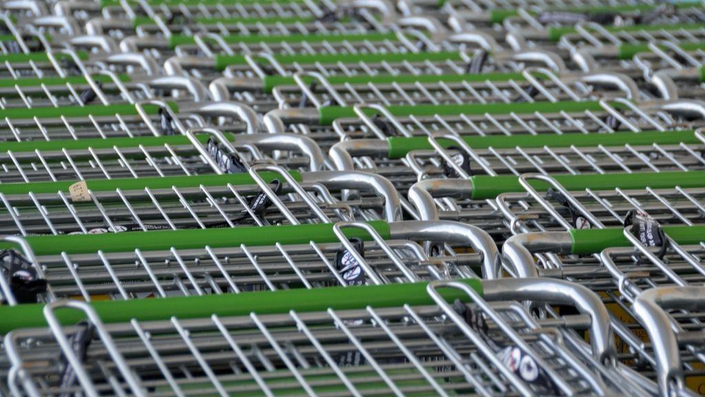 Carros de supermercado alimentos compras precios