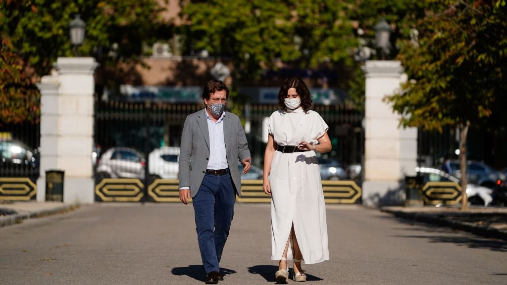 Isabel Díaz Ayuso y José Luis Martínez Almeida