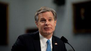 El director del FBI, Christopher Wray