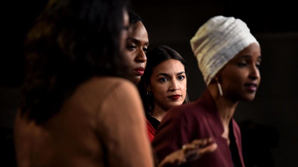 """El """"escuadrón"""" de mujeres demócratas"""