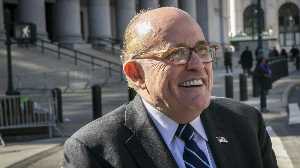 Rudy Giuliani, el abogado personal del presidente de Estados Unidos, Donald Trump