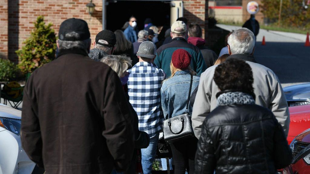 Jornada electoral en York, Pensilvania, Estados Unidos