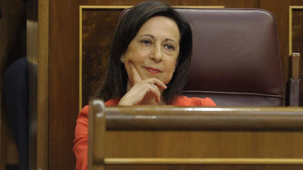 Margarita Robles, portavoz del PSOE en el Congreso