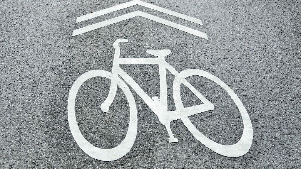 bicicleta carril bici