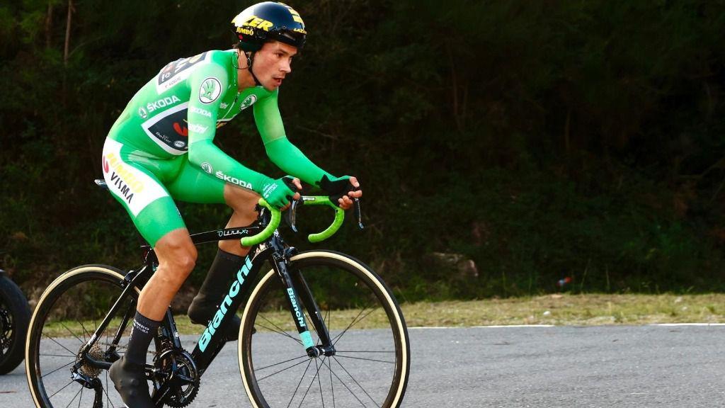 El ciclista esloveno Primoz Roglic