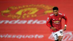El futbolista del Manchester United Marcus Rashford