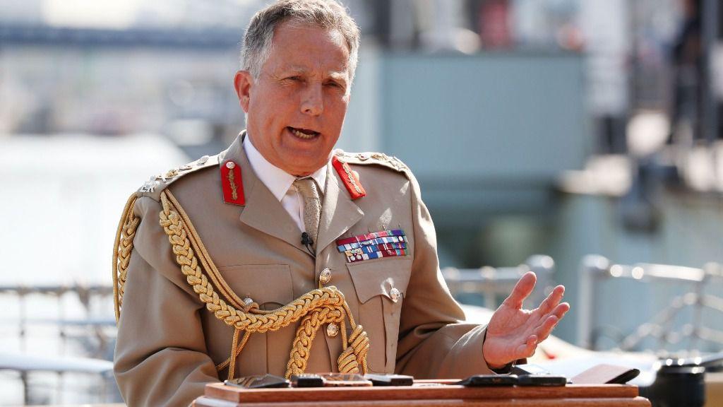 El jefe del Estado Mayor de las Fuerzas Armadas británicas, el general Nick Carter