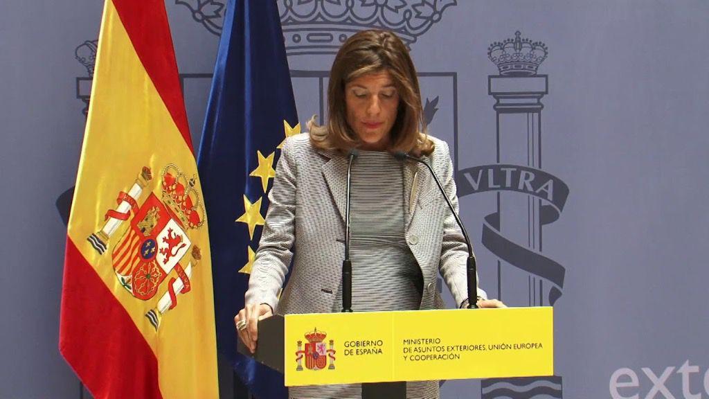 La secretaria de Estado de Cooperación Internacional del Gobierno de España, Ángeles Moreno Bau