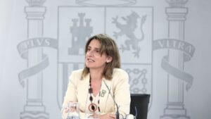 La vicepresidenta para la Transición Ecológica y el Reto Demográfico, Teresa Ribera