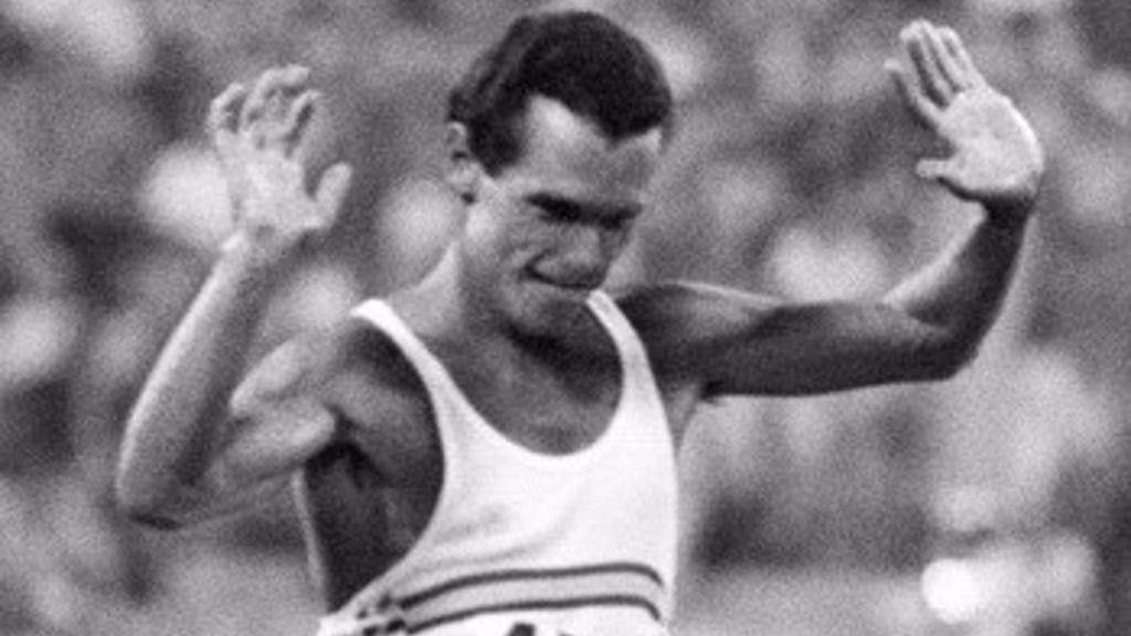 El atleta español Jordi Llopart