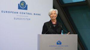 Christine Lagarde, presidenta del BCE