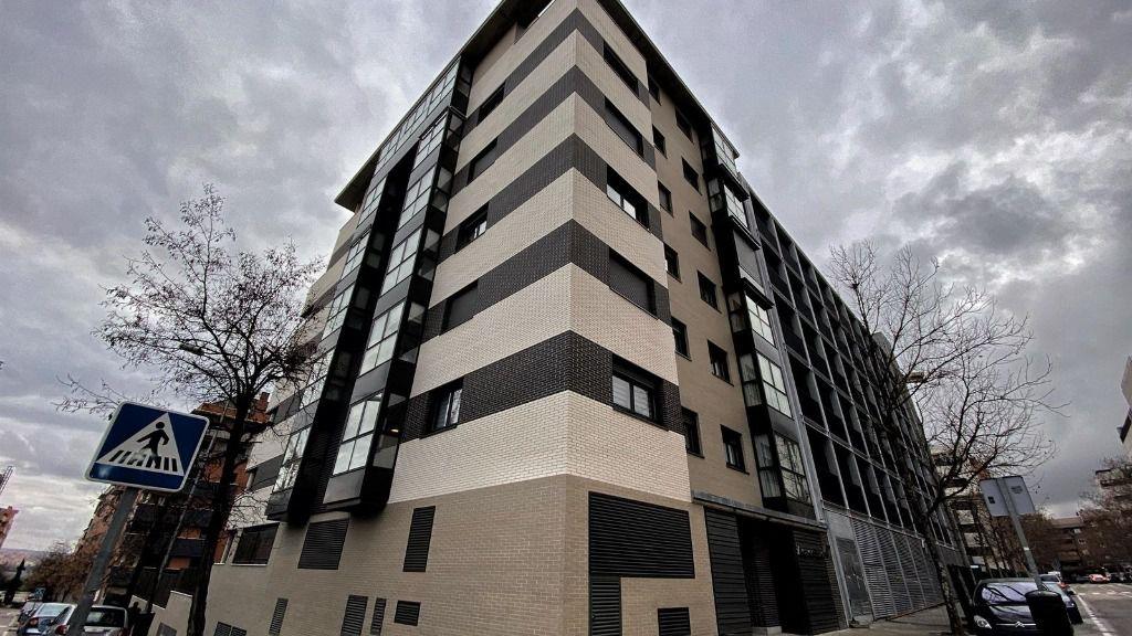 Un edificio de viviendas de Madrid