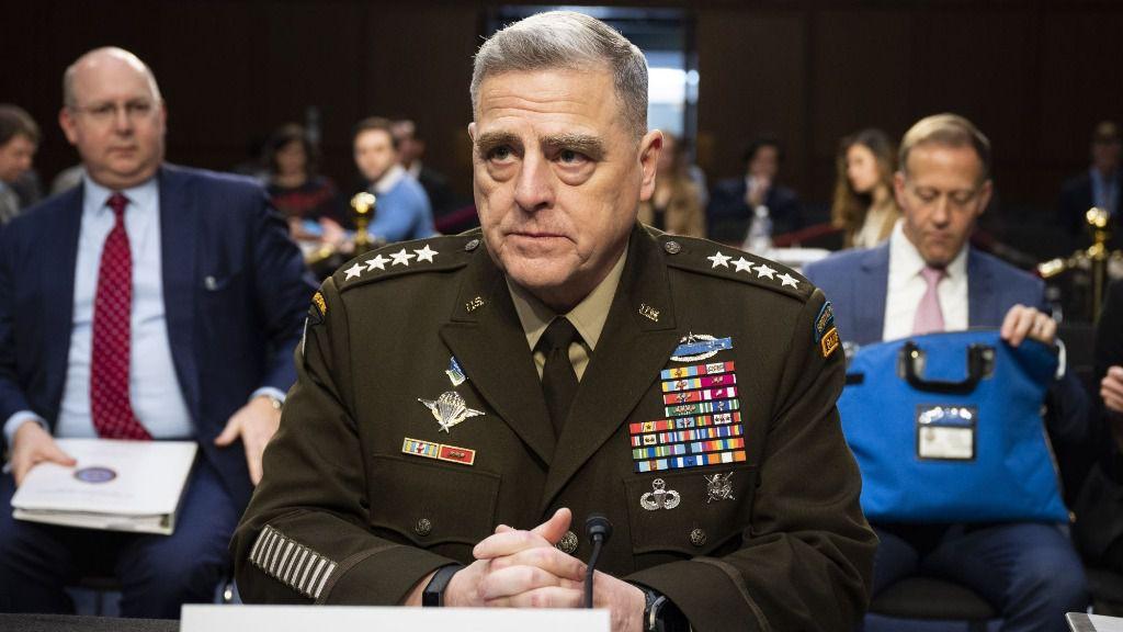 El presidente del Estado Mayor Conjunto de EEUU, general Mark Milley