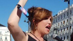 La presidenta de la Plataforma Trans, Mar Cambrollé
