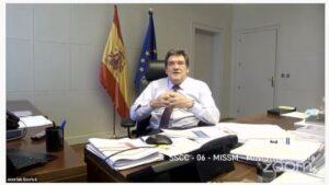El minsitro de Inclusión, Seguridad Social y Migraciones, José Luis Escrivá