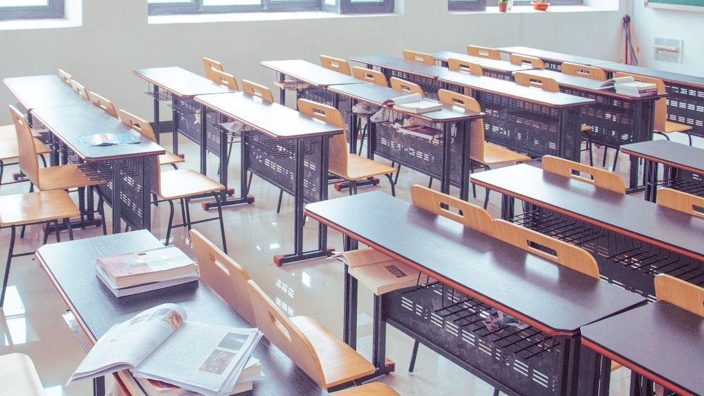 Educación aula clase