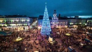 Puerta del Sol Navidad