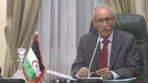 rahim Ghali, presidente de la República Árabe Saharaui Democrática y líder del Frente Polisario