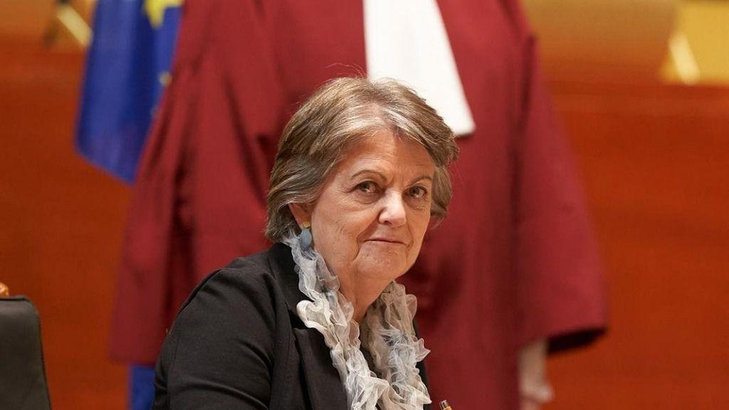 La comisaria Elisa Ferreira