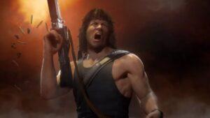 Rambo en Mortal Kombat 11 Ultimate