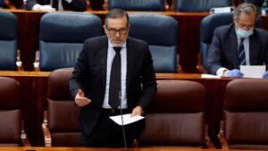 El consejero de Justicia, Enrique López