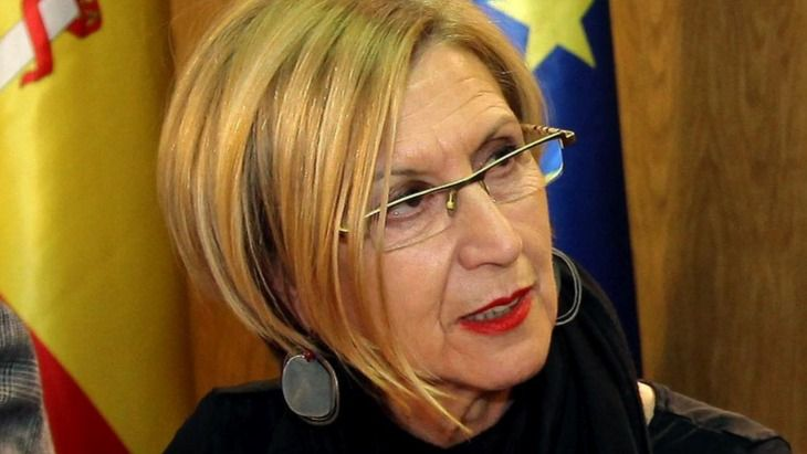 Rosa Díez, fundadora de UPyD