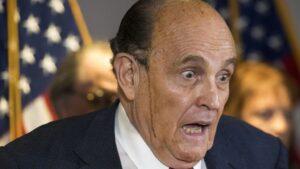 El abogado de Donald Trump, Rudy Giuliani