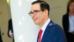 El secretario del Tesoro de EEUU, Steve Mnuchin