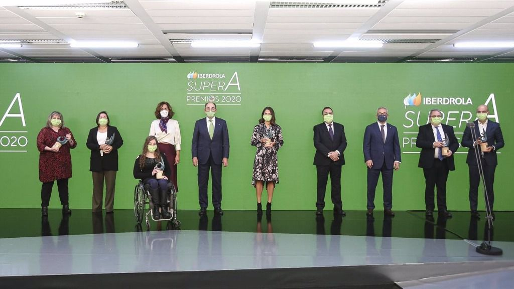 Iberdrola entrega los Premios SuperA a los mejores proyectos de impulso a la mujer en el deporte