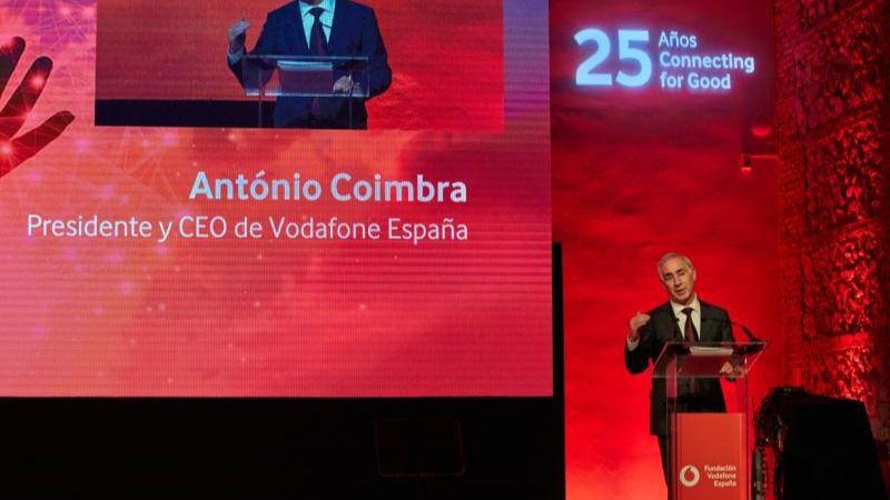 António Coimbras, presidente de Vodafone España