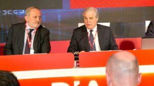Borja de la Cierva, exconsejero delegado de Dia, y Richard Goldiga
