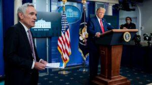 El exasesor especial del presidente de Estados Unidos, Donald Trump, Scott Atlas