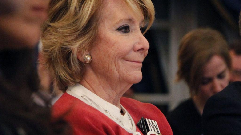 Esperanza Aguirre, expresidenta de la Comunidad de Madrid