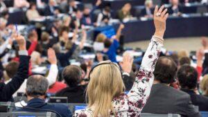 Parlamento Europeo mujer