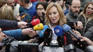 La vicesecretaria de Organización del PP y presidenta del PPN, Ana Beltrán